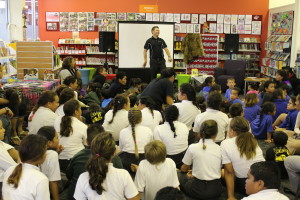Tamati @Mangere Town Centre Library 2013