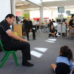 Joe @Glen Innes Library 2013