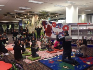 Morrisons at Tamaki Libraries 10 July 2015